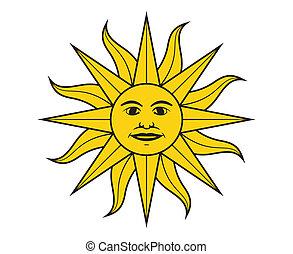 sole, maggio