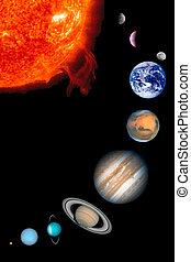 sole, nove, pianeti