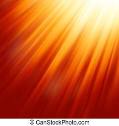sole, riscaldare, light., eps, 8