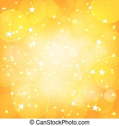 soleggiato, fondo, stelle, lucente