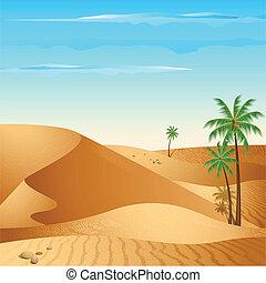 solitario, deserto