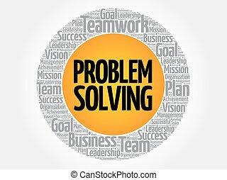 soluzione problemi, cerchio