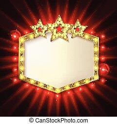 sopra, stelle, copyspace