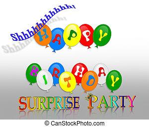 sorpresa, festa compleanno