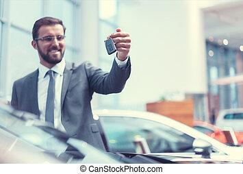 sorridente, driver