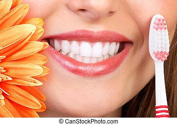 sorriso, denti