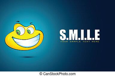 sorriso, faccia