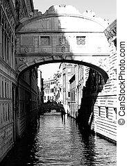 sospiri, ponte, venezia italia, famoso