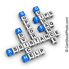 sostegno, aiuto