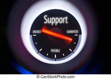 sostegno, concetto