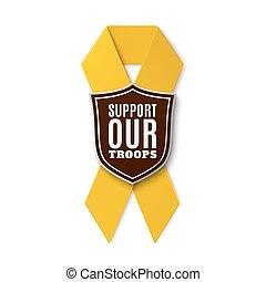 sostegno, nostro, troops.