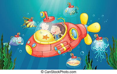 sottomarino, avventura