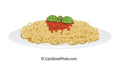 spaghetti, delizioso