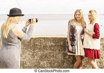 sparare, modelle, foto