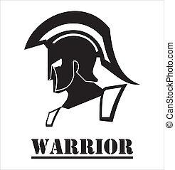 sparta/trojan, guerriero