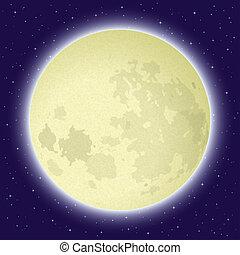 spazio, luna