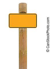 spazio, metallo, segno giallo, fondo, nero, asse, signage, copia
