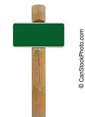spazio, segno metallo, fondo, verde, asse, signage, bianco, copia