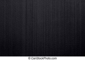 spazzolato, nero, alluminio