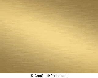 spazzolato, oro