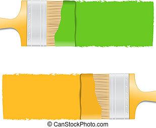 spazzole vernice