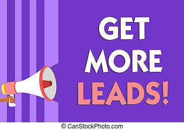 speaking., messaggio foto, scrittura, altoparlante, viola, strategia, seguaci, testo, concettuale, nuovo, megafono, più, clienti, affari, ottenere, marketing, esposizione, zebrato, mano, importante, leads., sguardo, clienti