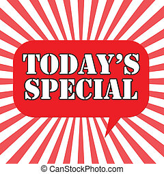 speciale, today's