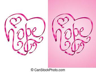 speranza, -, consapevolezza, cancro, seno