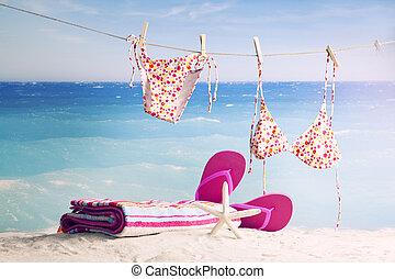 spiaggia, accessori