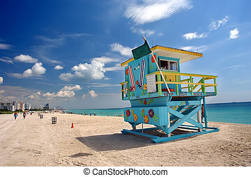 spiaggia miami, sud