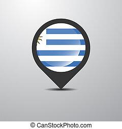spillo mappa, uruguay
