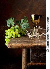 spine, corona, vino