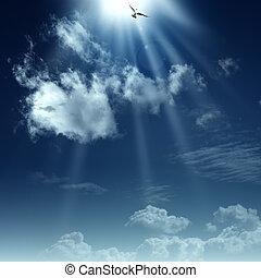 spirituale, heaven., astratto, sfondi, disegno, modo, tuo