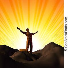 spiritualità, adorare