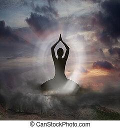 spiritualità, yoga