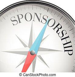 sponsorizzazione, bussola