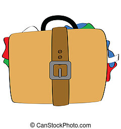 sporgente, bagaglio