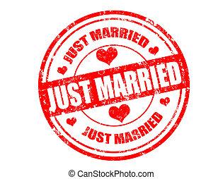 sposato, giusto, francobollo