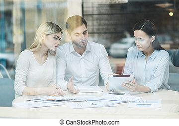squadra, lavorativo, progetto, professionale