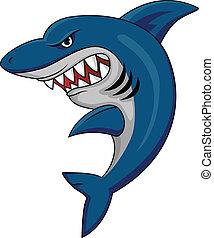 squalo, mascotte