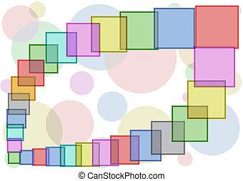 squares., colorito