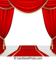stage., teatro, mesh.