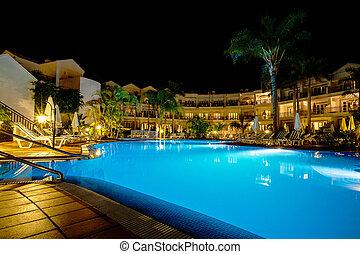 stagno hotel, notte