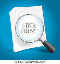 stampa, lettura, multa