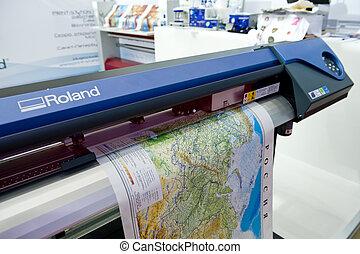 stampa, mappa