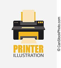 stampante, disegno