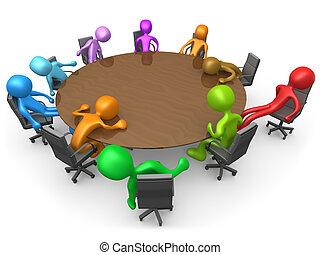 stancante, riunione