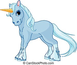 standing, unicorno