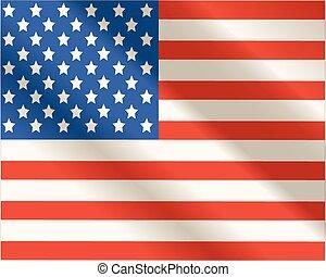 stati uniti, america., 4 luglio, giorno, indipendenza