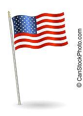 stati uniti diminuiscono, fondo, bianco, america